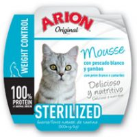 ARION ORIGINAL CAT STERILIZED WET 16x70GR