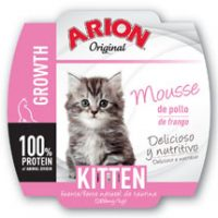 ARION ORIGINAL CAT KITTEN WET 16x70GR