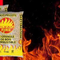 PELLETS DIN + CLEAN FIRE